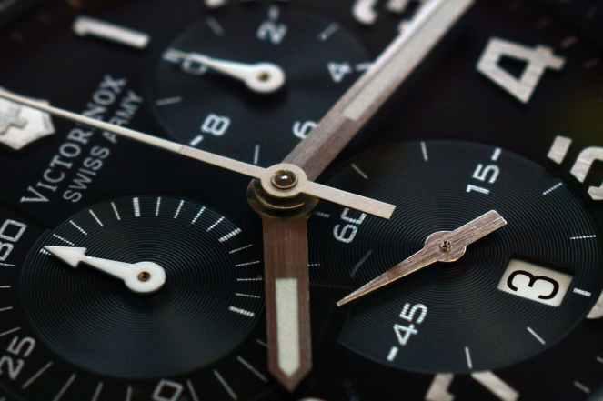 accuracy analogue clock countdown